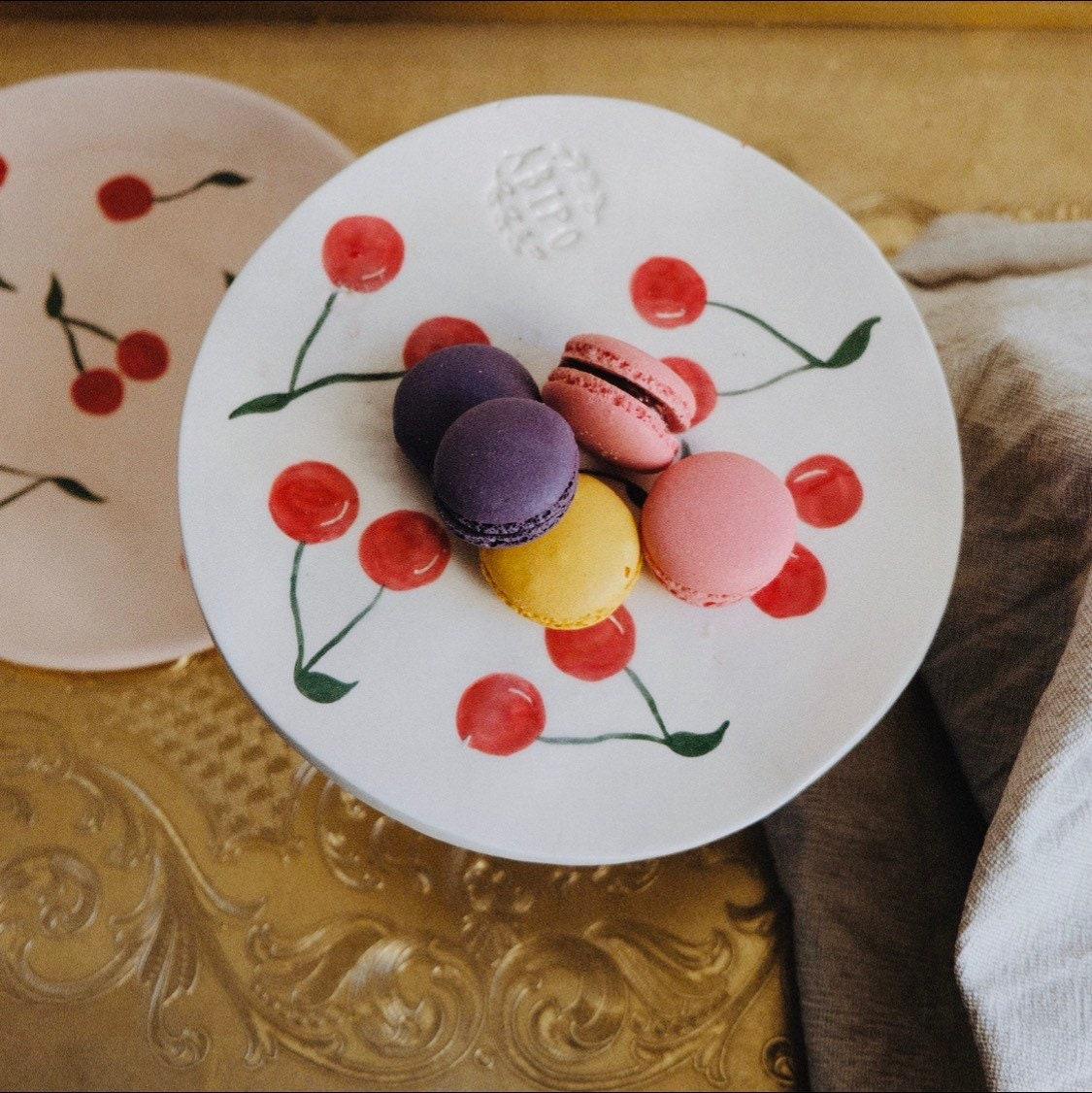 Alzatina di ceramica con ciliegie | Etsy