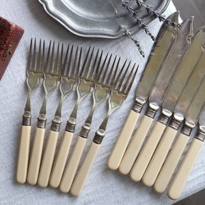 Early Vintage Crosby Silverplate Tablespoons Set of 2 Floral Art Deco Table Dining Elegant Serving
