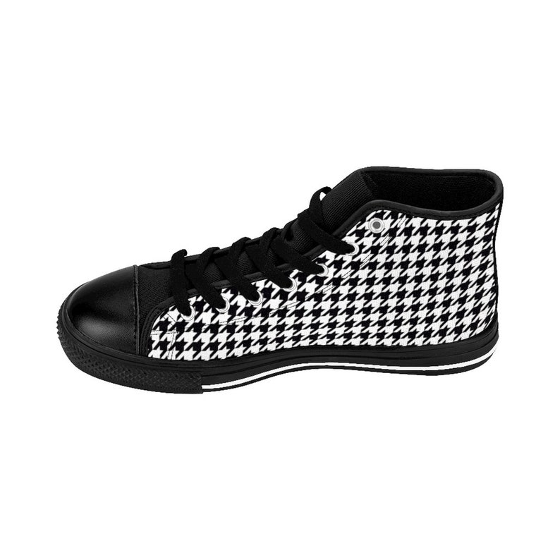 Sneakers da donna High-top houndstooth NXgZom7w