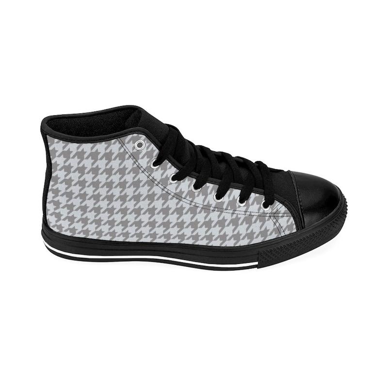 Sneakers da donna High-top houndstooth 9Jxg5Uvq