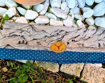 Hairband Headband Children's Headband Kids Kids Knot Headband Knot Headband Mountains Peak Points Turquoise Girl Birthday Gift