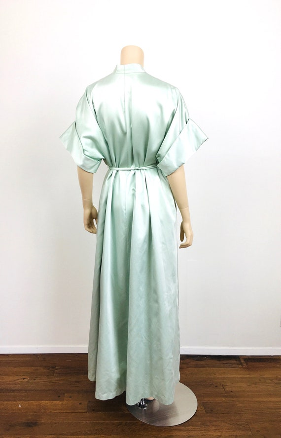 Vintage 1950s / 1960s LUCIE ANN Celadon Green HOL… - image 7