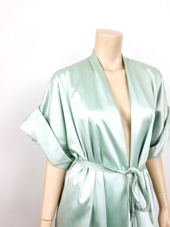 Vintage 1950s / 1960s LUCIE ANN Celadon Green HOL… - image 6
