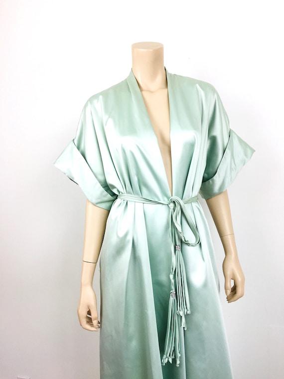 Vintage 1950s / 1960s LUCIE ANN Celadon Green HOL… - image 5