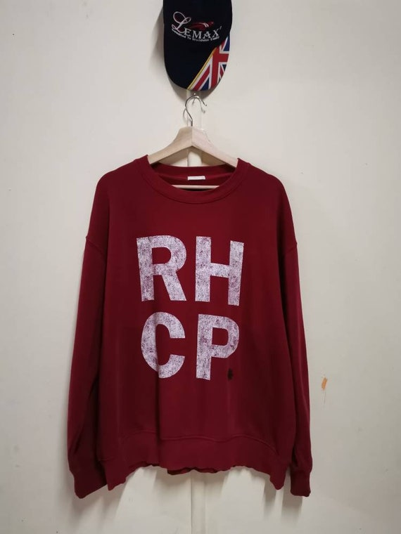 Band Tees RHCP Sweatshirt Vintage