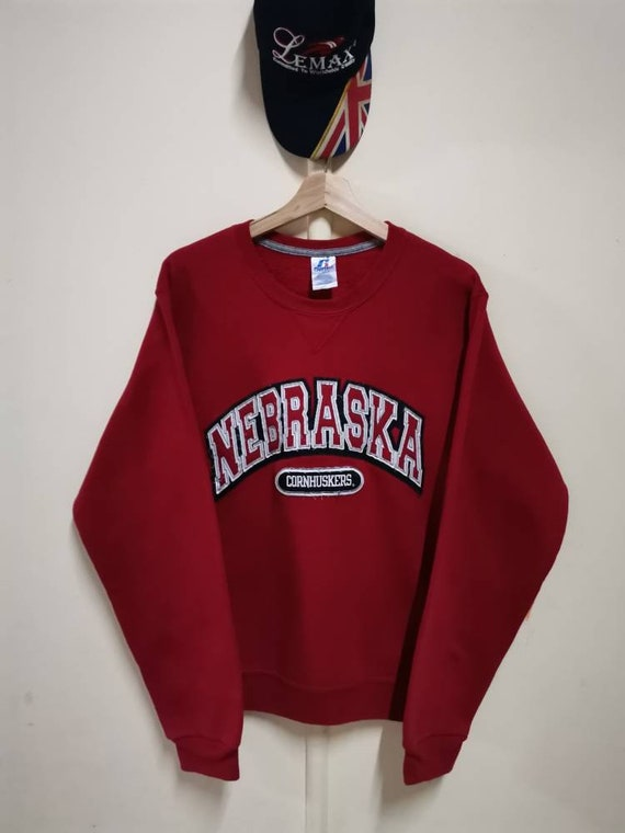 NEBRASKA BigLogo Embroidery by Russell Athletic