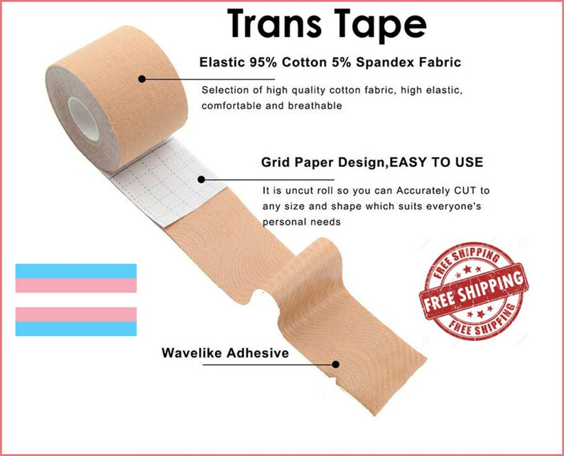 Trans Tape FTM Chest Binding image 0