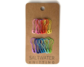Polymer Clay Hearts Fibre Art Tool Progress Marker For Knitting Stitch Markers