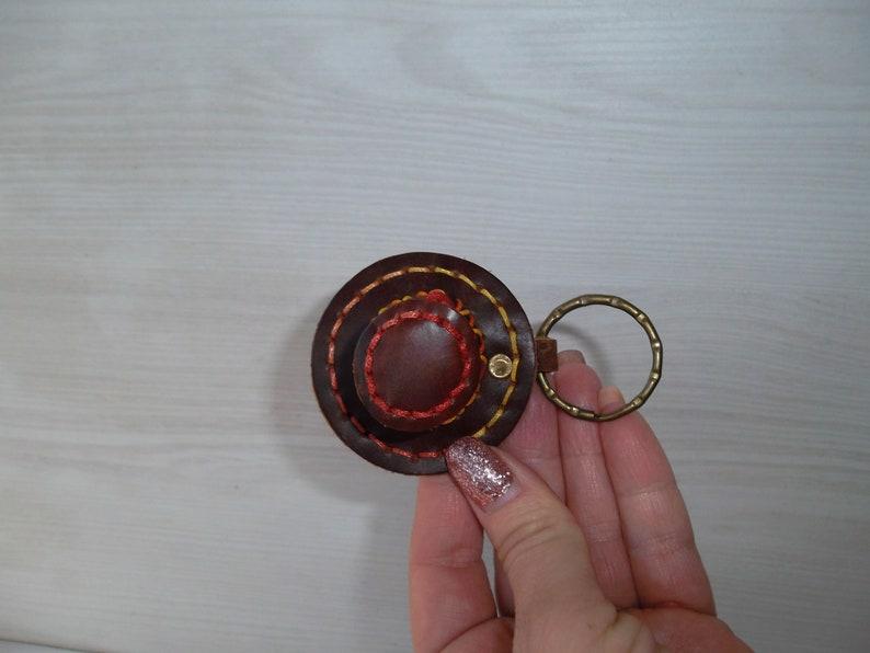 key chain key organiser Leather Key Holder leather keychain NEW boyfriend gift. key purse key fob