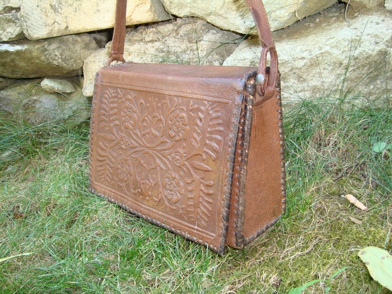 Leather bag , Distressed bag ,Everyday bag ,Women