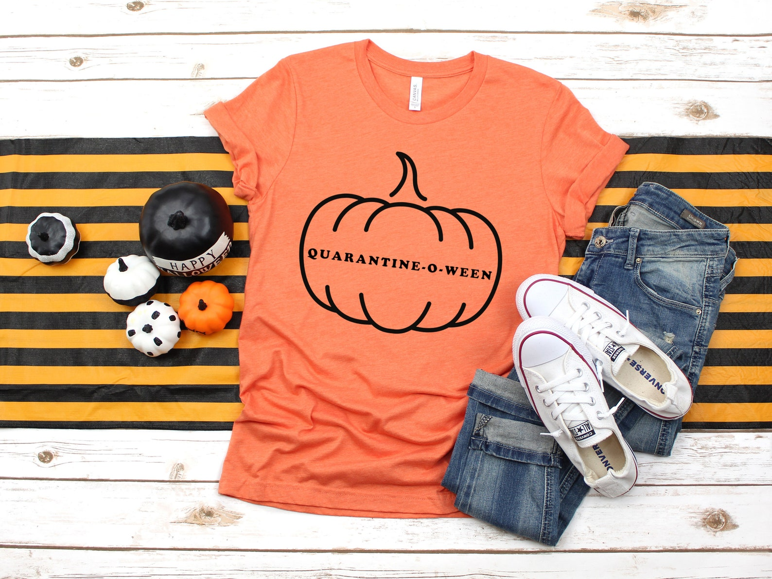 Quarantine-O-Ween T-Shirts for Women