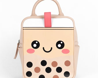 Cute Boba Backpack / Boba Bag / Messenger Bag / Tote Bags / Travel Bags/ Bubble Tea Backpack, Boba Holder, Boba Cup Holder