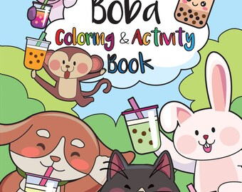 Boba Coloring and Activity Book [PHYSICAL]