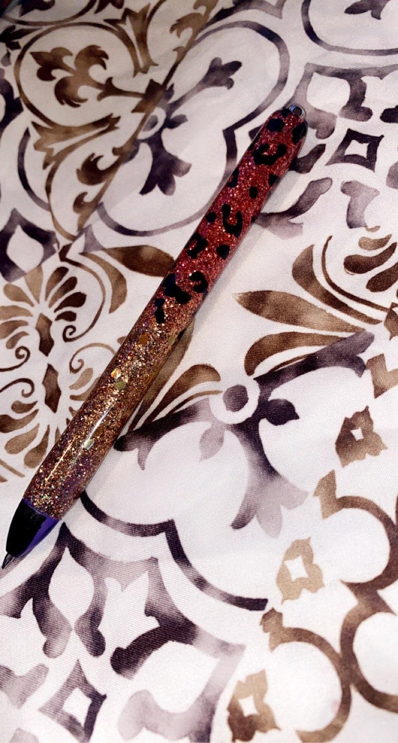 Epoxy glitter pens