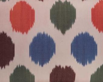 Silk Ikat Pillow Cover