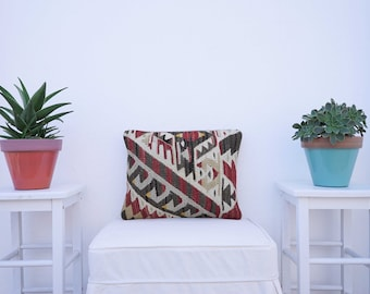 Wool Kilim Pillow Cover