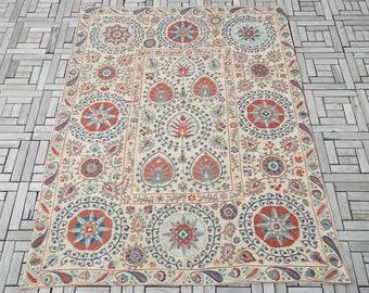Silk Suzani Bedspread