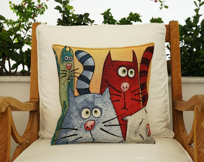 Cotton Painted Pillow