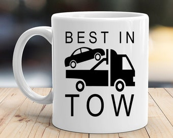 Details about  /Funny Towing Driver Coffee Mug Eat Sleep Tow Funny Staff Towing Truck