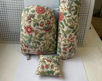 Tailors / Dressmakers / Pressing Ham/ Sleeve Roll/ Sausage Sewing Ham / Pin Cushion Set