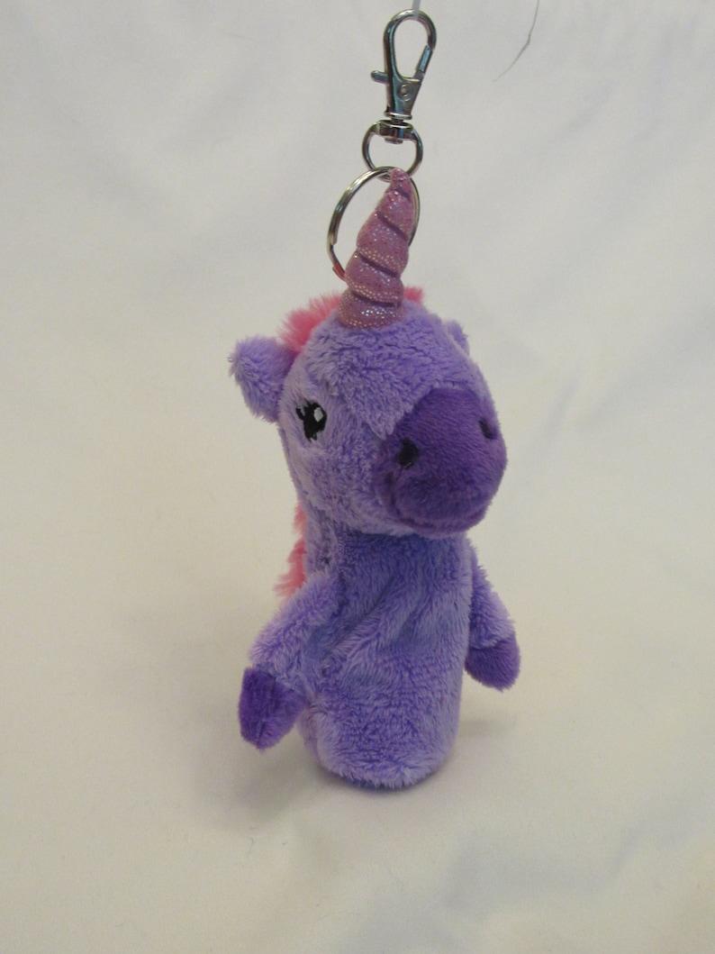 Unicorn Keychain Lip BalmChap Stick Holder