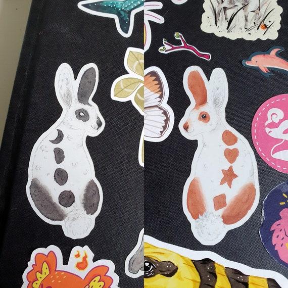 Set of 2 Bunny Sticker!