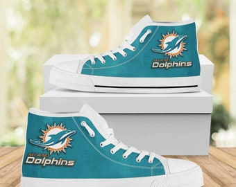 Miami dolphins shoes   Etsy