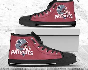 Converse New England Patriots Custom Shoes | Custom converse