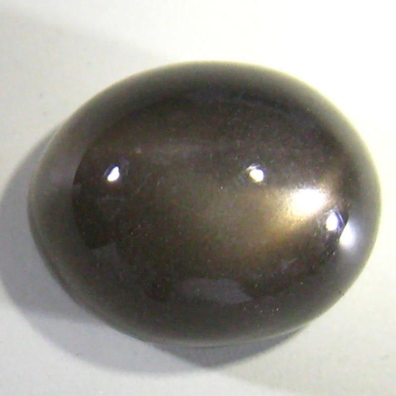 Marvelous 3.26ct Black star moonstone from India