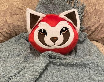 Legend of Korra  Pabu the Fire Ferret (Avatar the Last Airbender Universe) Plush Pillow
