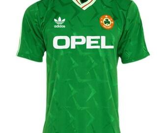 Irland Oldschool Ireland L/ÄNDERSHIRT EM//WM Fan Trikot S-XXL Damen T-Shirt
