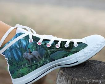 Princess Mononoke Shoes Etsy