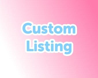 Alteration for SHIHAR Items Custom order