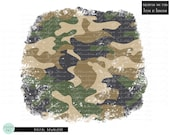 Distressed Camouflage Background Sublimation Design Download, Camo Background Png, Grunge Background Png File For Sublimation
