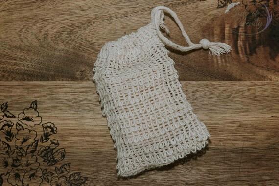 Natural Soap Saver | Sisal Bag | Soap Bag | Exfoliating Bag | Soap Holder | Shower | Shower Bag