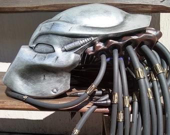 Jungle Hunter Predator Bio Mask cosplay classic film replica Battle Trance