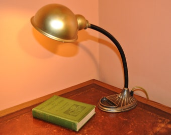 Classic Retro Restored 1950s Vintage Lamp