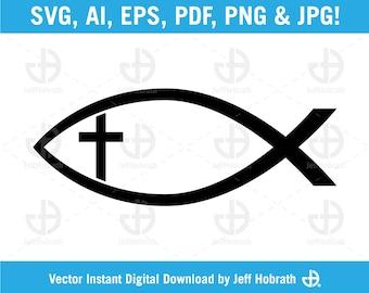 Download Christian Fish Etsy