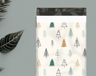 10 x 13 Christmas Tree Poly Mailer (Pack of 10)