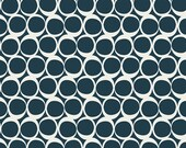 Art Gallery Fabric, Round Elements, Serene Tide, 8 quot square pic - 100 cotton quilting fabric