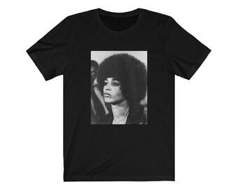 Angela Davis Tee T-shirt , Black Panthers , Activist, Stay Woke, Black Lives Matter,Natural Hair African American, Black Girl Magic