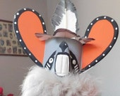 Grey Mouse Kachina Doll by Cindy Kachada