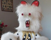 Masked Bear Kachina Doll by I. Tom