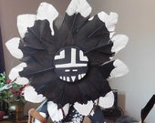 Tawa the Black Sun Kachina Doll by Cindy Kachada