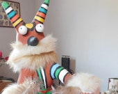 Tatangaya Hornet Kachina Doll by Cindy Kachada