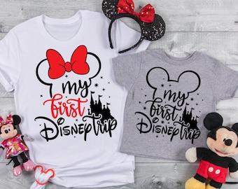 My First Disney Trip -Disney shirt - Minnie and Mickey - Disney Family Trip shirts-Disney Group t shirts.r1.2