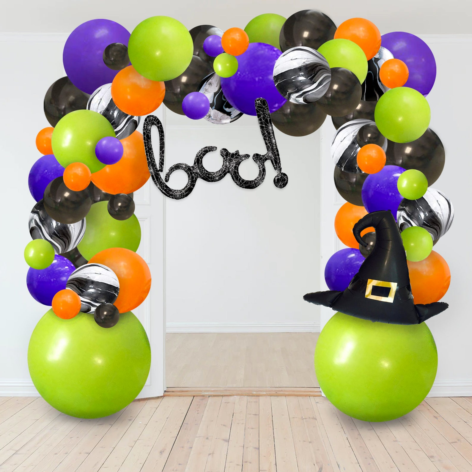 Halloween Balloon Arches Page Six