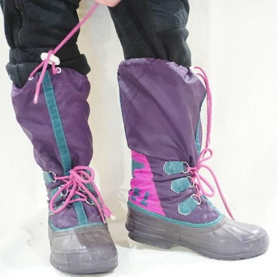 Vintage 80's Sorel retro snow boots