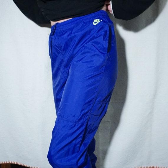 Vintage 80's retro Nike windbreaker track pants