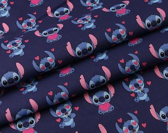 Stitch Cotton fabric by the half yard
